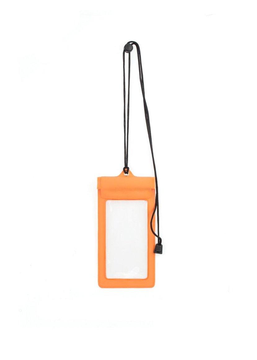 Kikkerland Waterproof Phone Bag, Orange