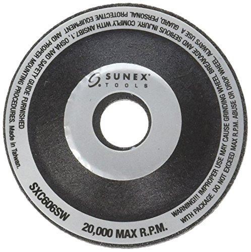 Sunex SXC606GW6 2-Inch Grinding Wheel, 6-Pack Sunex International
