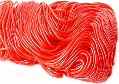 Strawberry Red Laces 2 Lb Bag, Quality Licorice Laces