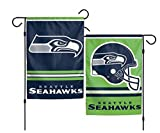 NFL Seattle Seahawks 2-Sided Garden Flag, 12 x