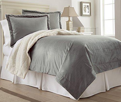Amrapur Overseas | Micro Mink/Sherpa 3-Piece Comforter Set