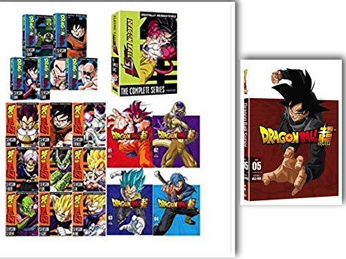 Dragon Ball 1-5/Dragonball Z 1-9/Dragon Ball Z Super 1-5/Dragon Ball GT 1-2: Complete Series DVD Collection