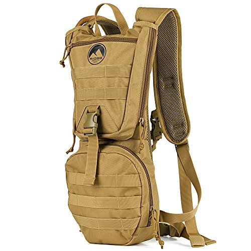 Ridge Recon Tactical Hydration Pack, Water Backpack 900D