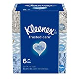 Kleenex Trusted Care Everyday Facial Tissues,144 tissues, 6 count: more info