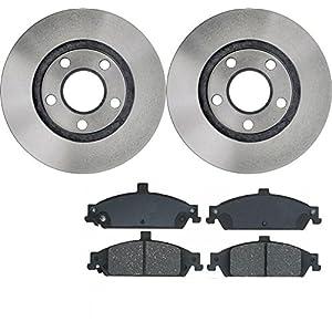 prime choice auto parts rscd65042 65042 727 2 4 set of 2 premium rotors 4 ceramic. Black Bedroom Furniture Sets. Home Design Ideas