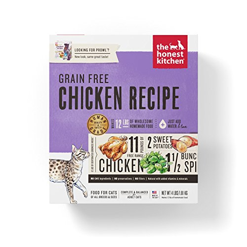 Honest Kitchen The Grain Free Chicken Cat Food Recipe, 4 lb