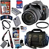 Canon EOS Rebel T4i 18.0 MP CMOS Digital SLR Camera with Sigma 18-200mm f/3.5-6.3 II DC OS HSM Super-Zoom Lens + 11pc Bundle 32GB Deluxe Accessory Kit
