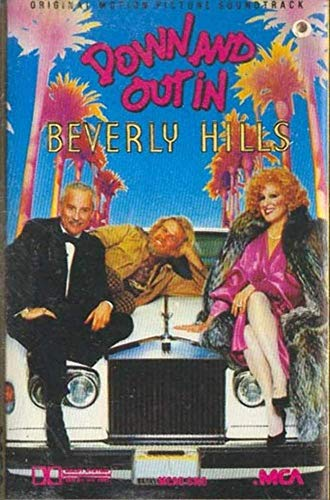 Down and Out in Beverly Hills -Soundtrack -12491 Cassette Tape