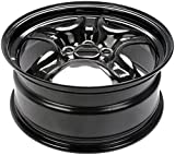 Dorman 939-103 Black Steel Road Wheel 17x7.5''/5x114.3mm with 44.5mm Offset
