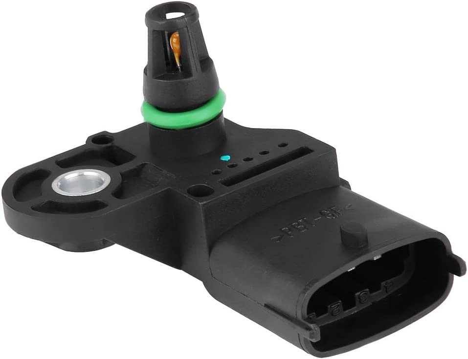 Suuonee Air Pressure Boost Sensor Map Manifold Air Pressure Turbo Boost Sensor For Vauxhall Opel Fiat 0281002437