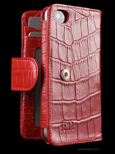 Sena Walletbook Leather Case for iPhone 4 / 4S