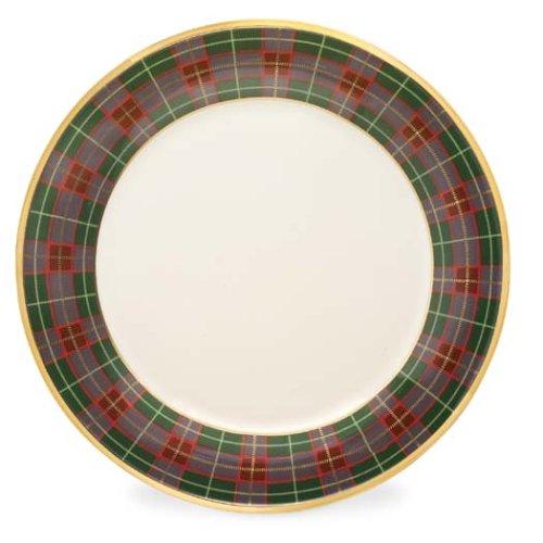 Lenox Holiday Tartan Buffet/Service Plate