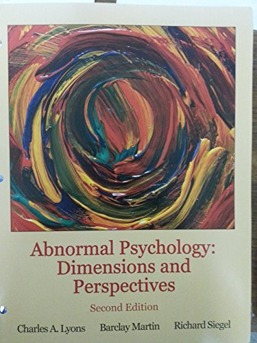 perspectives in psychology 2nd custom edition pdf