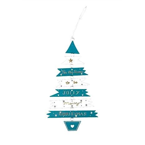 Decoraci/ón de Navidad Colgante Suministros de Vacaciones de Madera Adornos de /árbol de Navidad Sala de Estar Adornos de Dormitorio Navidad Decoracion