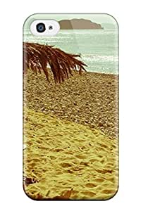 Hot Tpu Cover Case For Iphone/ 4/4s Case Cover Skin - A Nap On The Beach