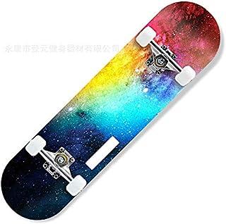 SUPRERHOUNG Planche de Skateboard en érable pour Adultes et Enfants