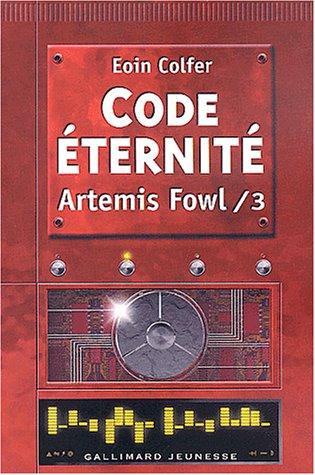 Artemis Fowl n° 3 Code éternité