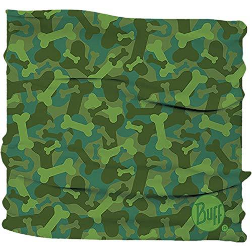 - Buff Dog Insect Shield Neckwear - Bone Camo Green; Medium/Large