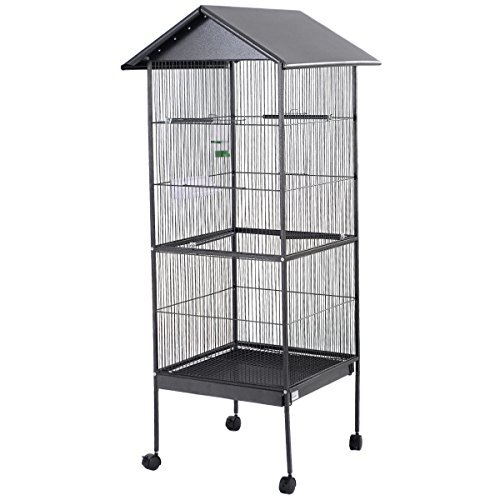 T'pol Costume (Rolling Wheel Large Bird Cage With Stand Two Doors 61