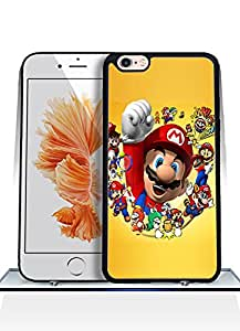 Iphone 6s Funda Case - Game Super Mario Drop Resistant Ultra Thin Exclusive Vintage Special Pattern Anti Scratch Plastic Funda Case For Iphone 6 / 6s [4.7 inch]