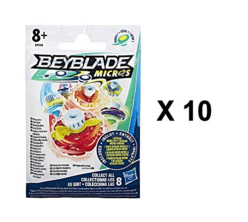 Beyblade Micros Series 1 Battling Tops Blind Bag Party Favours - Pack of 10