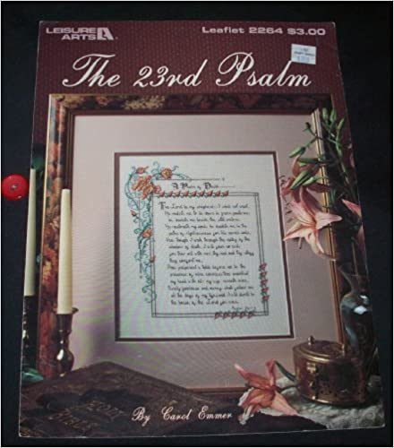 Counted Cross Stitch Pattern Pamphlet 2264 The 23rd Psalm