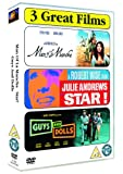 Musicals Triple - Man of La Mancha/Star!/Guys and Dolls [Import anglais]