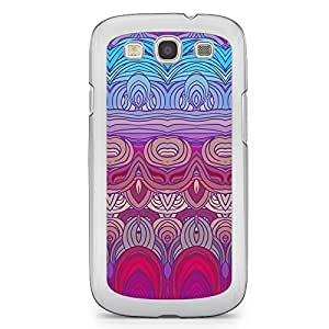 Hairs Samsung Galaxy S3 Transparent Edge Case - Design 14
