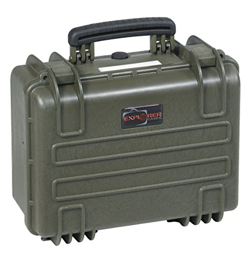 Explorer Cases 3818 G Waterproof Dustproof Multi-Purpose Protective Case with Foam, Military Green by Explorer Cases