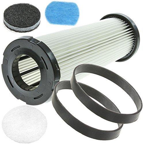 Spares2go HEPA Filter & Belt Service Kit For VAX Vacuum Cleaner (Fits V-041P Ultrixx Pet, V-008 PerFormance, V-008U, V008SP Self Propelled, V-006B TurboForce, V-006L TurboForce Lite)