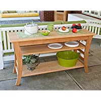 Cedar Entertaining Buffet Table 58In
