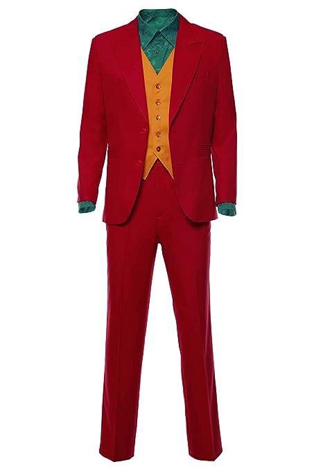 RedJade Clown 2019 Arthur Fleck Joker Traje Traje de Cosplay ...