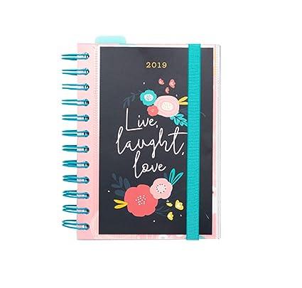 Grupo Erik Editores AGEDP1902 - Agenda anual 2019 con diseño Blummen, día pagina