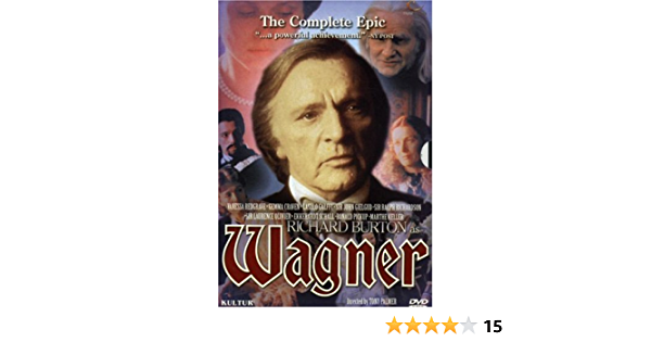 Wagner [USA] [DVD]: Amazon.es: Richard Burton, Vanessa ...