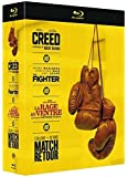 Creed + The Fighter + La rage au ventre + Match retour [Blu-ray]