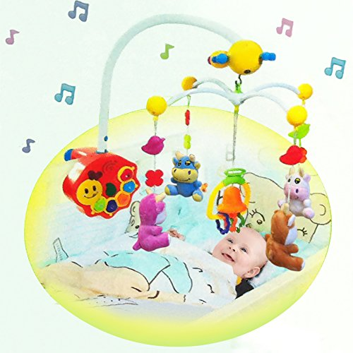 Rc Remote Control Sweet Dreams Infrared Baby Mobile (Plush Dolls)