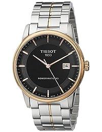 Tissot Men's TIST0864072205100 Powermatic 80 Analog Display Swiss Automatic Two Tone Watch