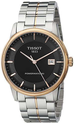 Tissot Men's TIST0864072205100 Powermatic 80 Analog Display Swiss Automatic Two Tone Watch