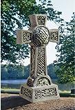 """22"""" Donegal Celtic High Home Garden Cross Statue Sculpture"""