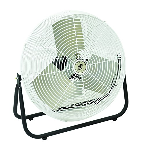 TPI F18CR Corrosion Resistant Industrial Workstation Fan, Floor Model, 18