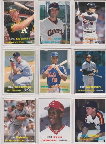 1990 Scd Baseball Card Monthly Price Guide Insert 9 Card Lot 1 1