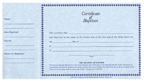 Baptism Certificate - 5