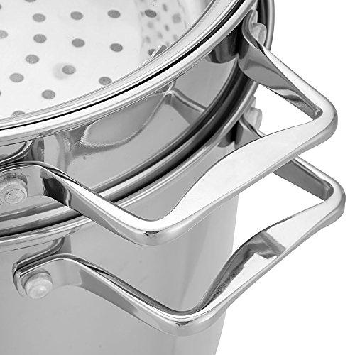 Hamilton Beach 8.5qt Stainless Steel 4 Piece Multi Cooker Pot Set (Open Box) 4 Piece Multi Cooker