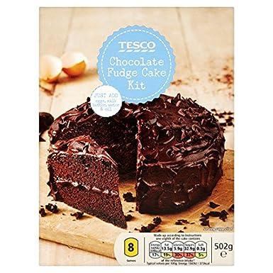 Tesco chocolate cake mix