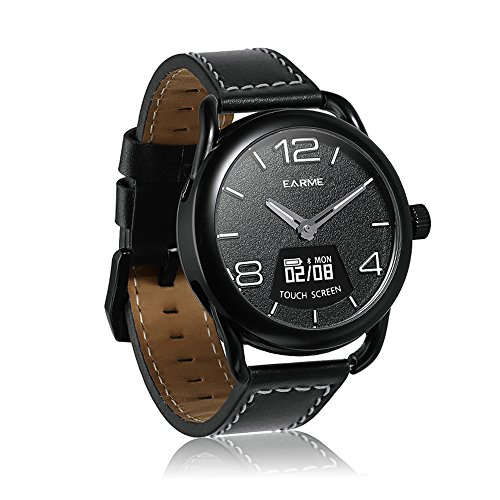 [New]Smart Watch,3ATM Waterproof Wireless Charging Wrist Watch with Calorie,Alarm Clock,Heart Rating/Blood Pressure/Sleep Monitor,Call Remainder Quartz Sport Watch Best Gift for Man,Boyfriend and Kids