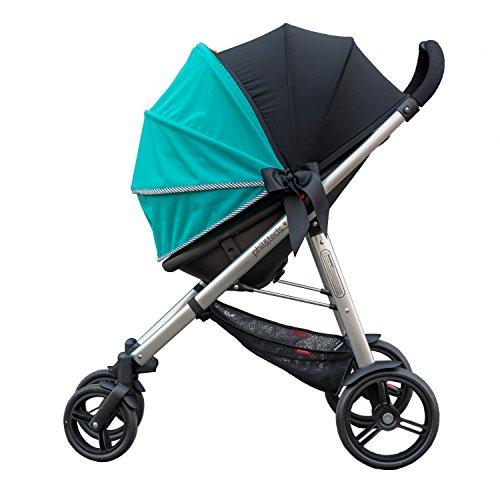 Olive + Oliver Simple Shade Universal Stroller, Jade