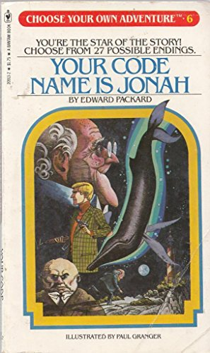 Your Code Name Is Jonah (Choose Your Own Adventure, Book 6)
