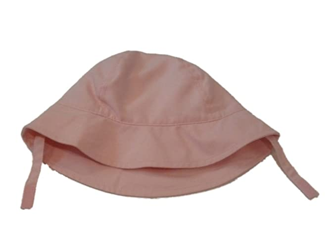 Amazon.com  Fun   Sun Infant Girls Floppy Pink Sun Hat UV Bucket Cap ... 9f6b880a3548