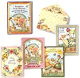 Sunshine from Heaven by Debbie Mumm [ASN34623] – Birthday Note Card Assortment by Leanin' Tree – 12 cards featuring a full-color interior and colorful envelope, Health Care Stuffs