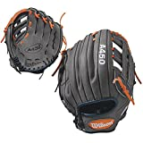 Wilson Advisory Staff Game-Ready All-Leather Shell Utility All-Positions Baseball Glove for Right and Left Hand Throw